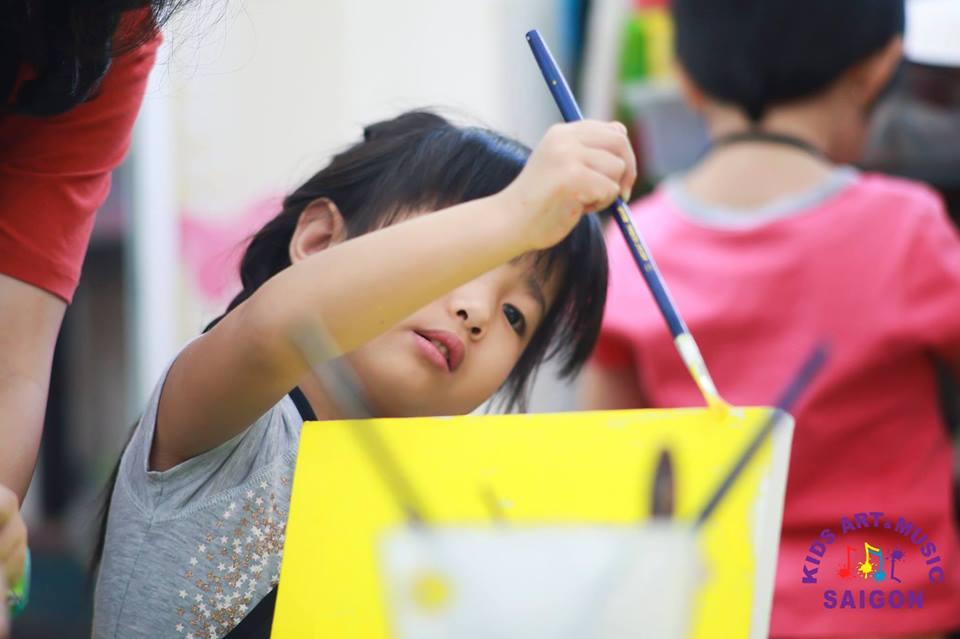 Lớp dạy vẽ cho trẻ em - Kids Art & Music Saigon TP.HCM hình ảnh 2