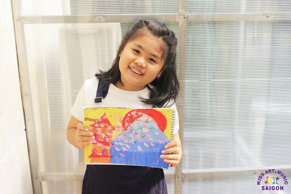 Những kỹ thuật vẽ màu nước cơ bản khi dạy vẽ trẻ em (P2)