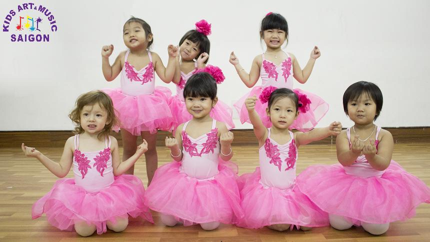 Lớp học múa Ballet cho bé - Kids Art & Music Saigon hình ảnh 5