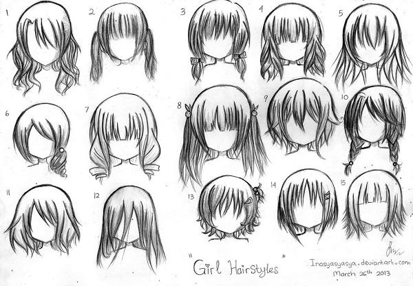7 bước tự vẽ chibi bằng bút chì siêu đơn giản ai cũng có thể làm được - hình 5