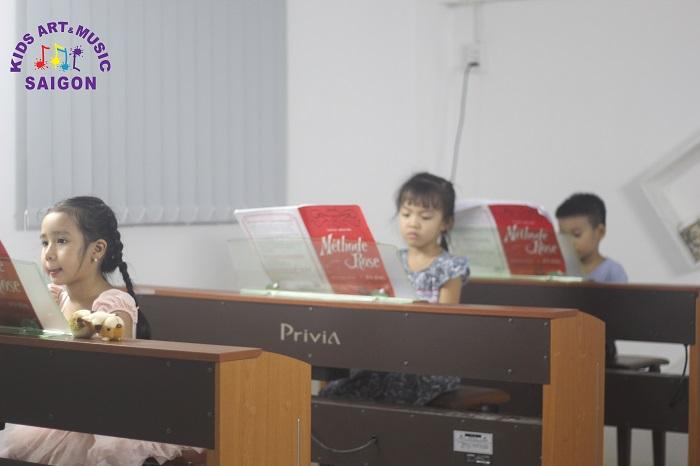 5 điều tuyệt vời dành cho bé tại lớp học đàn Piano ở quận 9
