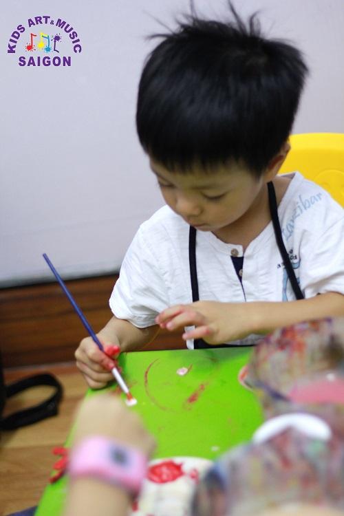 Điều đặc biệt đến từ các lớp dạy vẽ ở Hà Nội