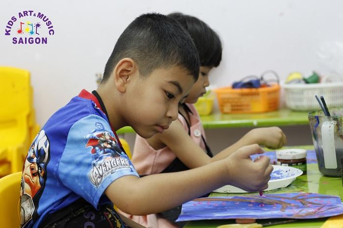 Lớp dạy vẽ cho trẻ mầm non ở đâu là tốt nhất?
