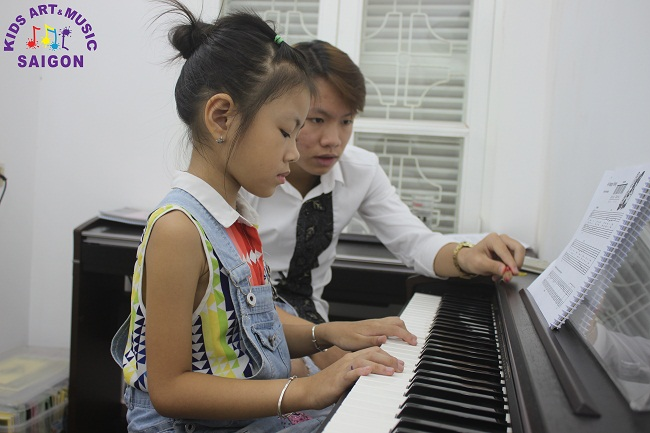 Lớp học Piano ở Hải Phòng chất lượng cao