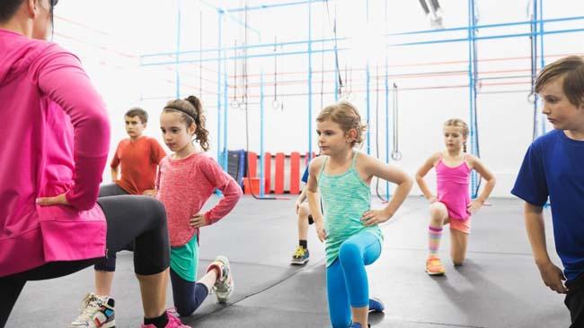 Lùng sục địa chỉ tập thể dục thẩm mỹ ở Hải Phòng cho bé