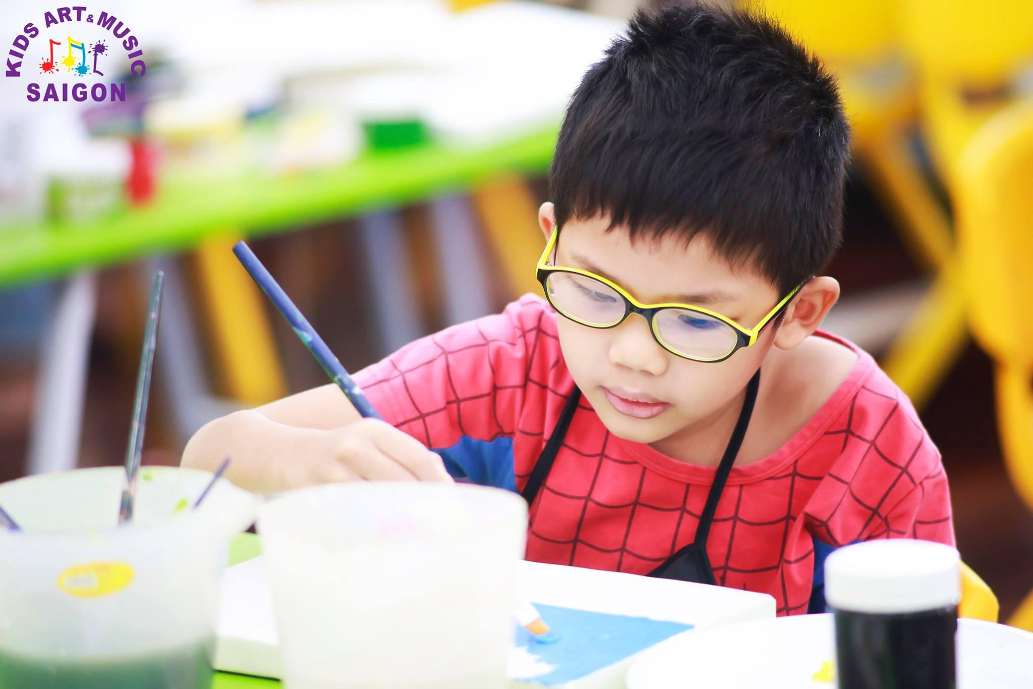 7 lợi ích tuyệt vời các lớp học vẽ ở quận 9 mang đến cho các bé hình ảnh 2