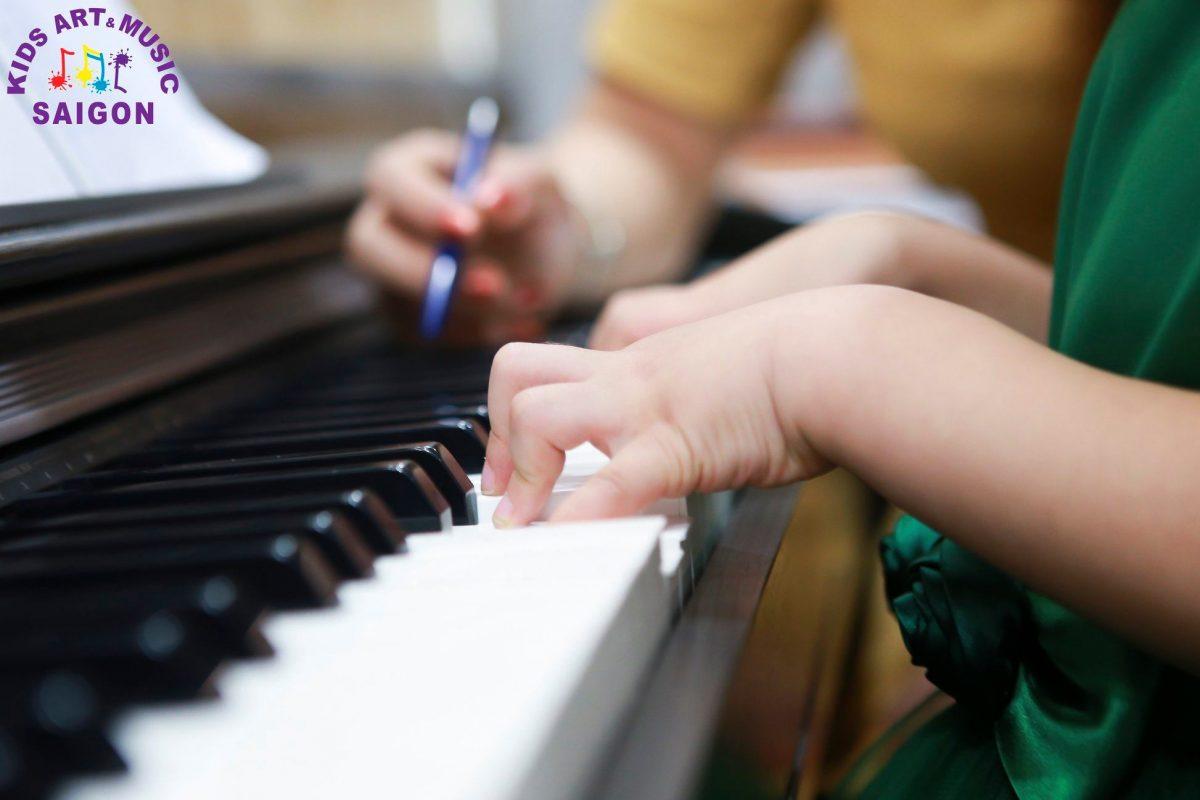 Lớp học Piano cho bé ở Hải Phòng