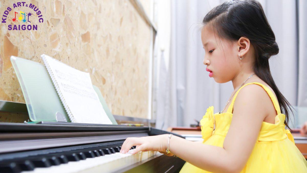 Đôi nét về các lớp học đàn piano ở Bình Dương cho trẻ em