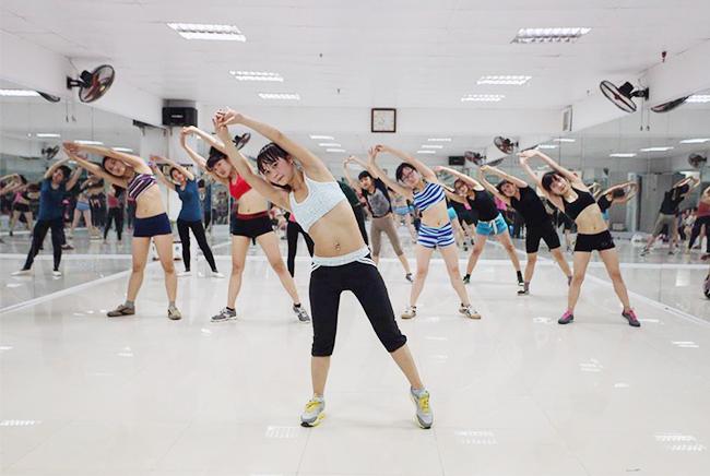 Địa điểm tập nhảy aerobic ở bình dương hình ảnh 1
