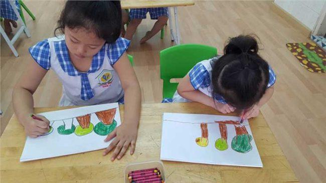 Một vài lưu ý khi tìm gia sư dạy vẽ cho trẻ em ở tp HCM