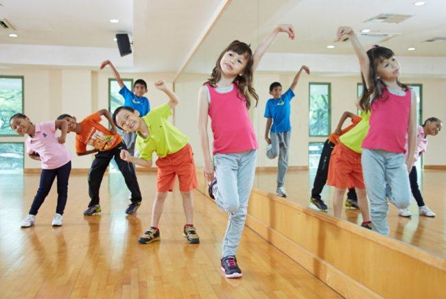 Những điều cần biết về các lớp nhảy aerobic trẻ em ở quận Tân Phú.