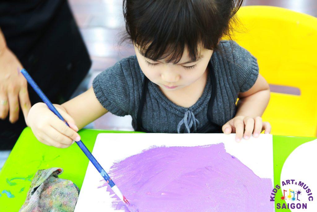 Gia sư dạy vẽ cho trẻ em tp HCM hình 1