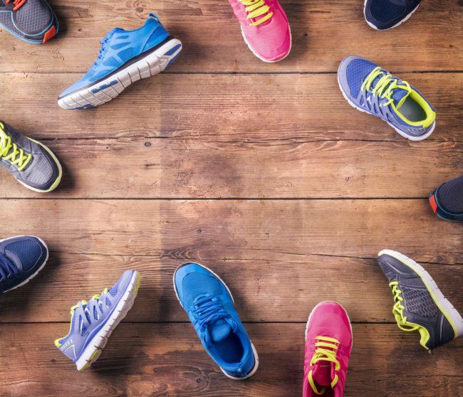 Bật mí bí quyết chọn giày tập aerobic