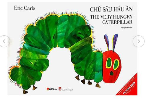 Review truyện Chú sâu háu ăn – The very hungry caterpillar