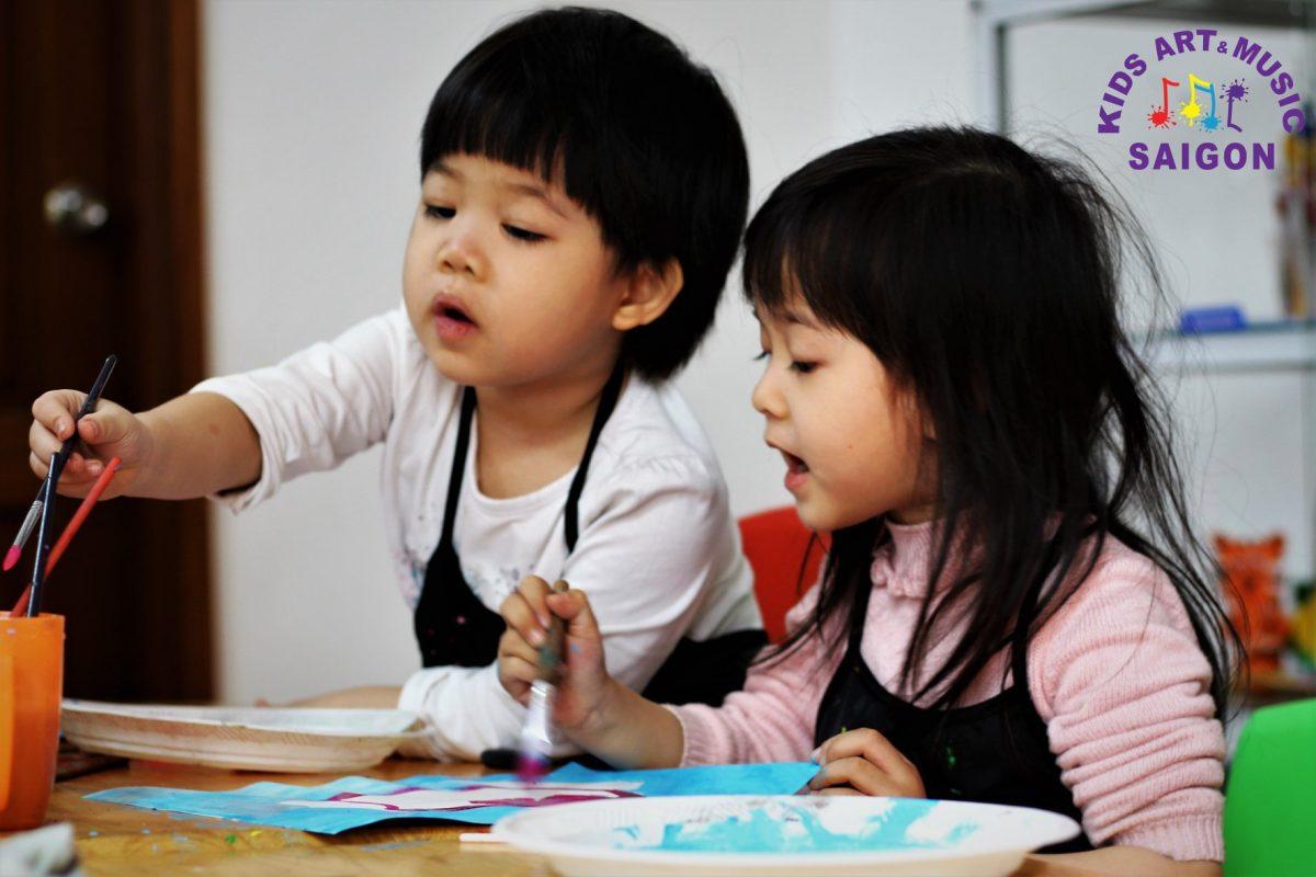Muốn con thông minh hơn, hãy cho con học vẽ