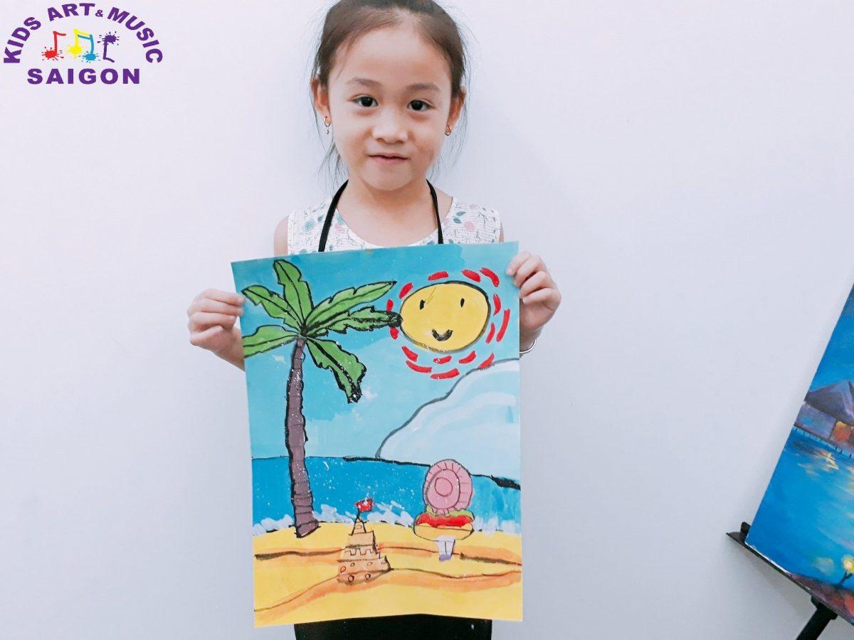 Nên cho trẻ học vẽ lúc mấy tuổi là tốt nhất?