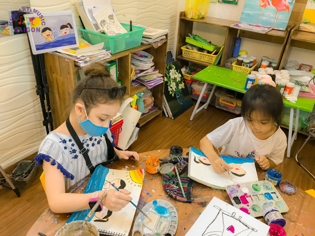 Học vẽ có thực sự giúp bé phát triển tư duy sáng tạo?